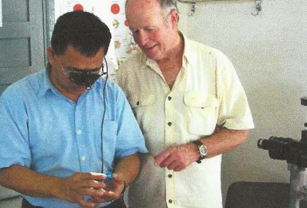 Rose Charities Optometrist Mike Webber completes his 14th optometrist trip to Cambodia