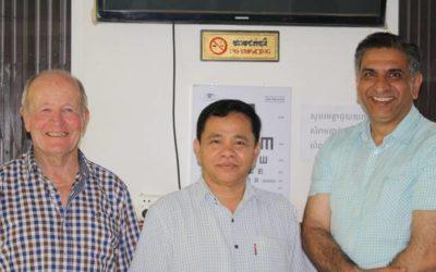Cambodian Trip Opens Benefactors Eyes